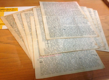 An 18-page letter written by Beat-era icon Cassady is shown to reporters in San Francisco